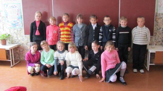 Een deel van de groep uit Chorsk